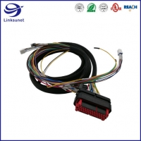Quality AMPSEAL Sealed 3 Row 4mm Connector for Powertrain Wire Harness for sale