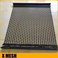 Quality Galvanized crimped wire mesh vibration screen / Sieving mesh for sale