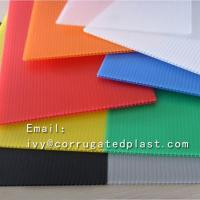 China 4mm Corrugated plastic sheet 4x8/ Coroplast with low price/Trade Assurance Color Clear Roofing Corrugated Plastic Sheet on sale