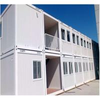 Fast Build Container House Prefab ,  Duplex Prefab Shipping Container House For Living Office Dormitory