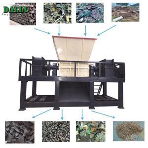 Quality Single Shaft Plastic Shredder Machine / Chipper Machine For PET Bottle Rubber Tire for sale