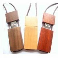Quality Flash Memory Drive in Wooden Cases Necklace Shape for sale