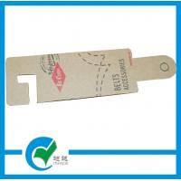 Quality OEM Personalized Kraft Paper Clothing Hang Tag Printing for sale
