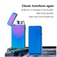 Quality Easy To Use Non Flame USB Rechargeable Lighter Windproof No Gas For Gift for sale