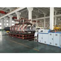 Quality HDPE Double Wall Corrugated Pipe Production Line / DWC Extruder Machine 500-1000mm for sale