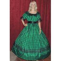 Wholesale  Mouse over image to zoom CIVIL-WAR-REENACTMENT-SASS-LARP-DICKENS-Green-Plaid-Ta