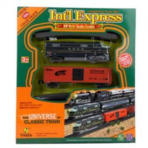 Electric Slot Train Set, B/O Train Toys