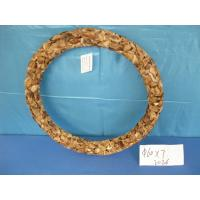 Quality wood adornment in a ring with competitive price ,a good home decoration for sale