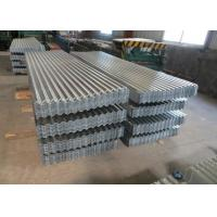 Quality Galvanized Galvalume Corrugated Metal Panels , SGCC GI GL Corrugated Roofing Iron Sheets for sale