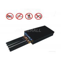 China Light Weight Mobile Signal Blocker For Jamming WiFi / Cell Phone / GPS L1 Jammer Signals on sale