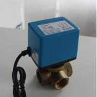 Quality 6 W Mixing Water Electric Ball Valve No Leakage For Heating / Cooling Systems for sale