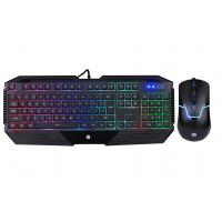 Quality Full Size Gaming Keyboard Mouse Combo , GK1100 Mechanical Keyboard Mouse Combo for sale
