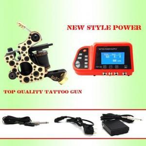 Quality Brass handemade tattoo machine shader+new power supply for sale