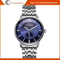 China 060 Stainless Steel Watch Fashion Jewelry Luxury Trendy Watch 2016 Hot Sale Watches Man on sale