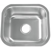 Quality 16 Gauge SS Single Bowl Kitchen Sink With Easy Cleaning Corners for sale
