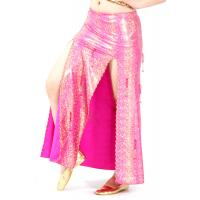 Quality Performance hip cover belly dancing skirt with beading tassels costumes for sale