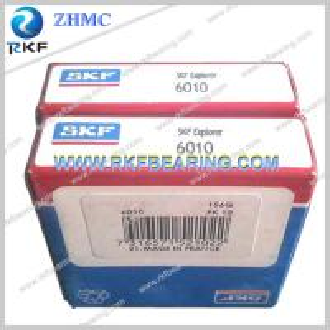 Quality SKF 6010 Single Row Open Deep Groove Ball Bearing for sale