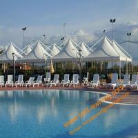 Swimming Pool Tents, Powder Coated Steel or Aluminum 4x4m, 5x5m, 6x6m UV Resistance Gazebo Tent