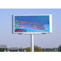 Quality P6 HD Outdoor Led Advertising Display Board Full Color Module Size 320*160 for sale