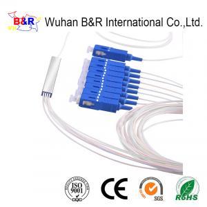 Quality 1x8 5m Fiber Optic PLC Splitter For CATV Links for sale