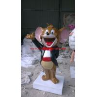 China resin Jerry mouse figurine on sale
