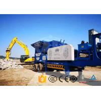 Quality Granite Crawler Mobile Crusher Wide Use Cone Mobile Crusher Machine for sale