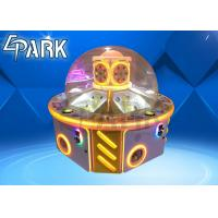 Quality Led Light Kids Crane Arcade Machine Fun Paradise Interactive Catch Gift Machine Coin Pusher for sale