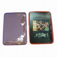 Quality Tablet PC Cases for kindle fire HD, made of TPU, S-shape design for sale