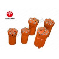 Quality Thread Button Top Hammer Drill Bits With Tungsten Carbide Material for sale