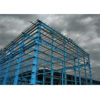 Quality Durable Industrial Steel Structure Workshop Color Steel Sheet With Bridge Crane for sale