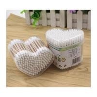 China Wooden Handle Cotton Swab Medical Use Treated With High Temperature on sale