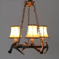Quality Art deco antler hanging chandelier light for home farmhouse lighting (WH-AC-25) for sale