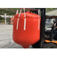 China 1 Ton - 2.5 Ton PVC Recycled Big Bag Cone Bottom / Flat Bottom With Spout on sale