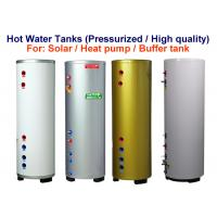 Quality Stainless Steel Material Pressurised Hot Water Tank 100 - 500 L Capacity for sale