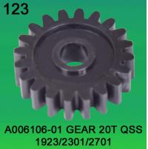 Quality A006106-01 GEAR TEETH-20 FOR NORITSU QSS1923,2301,2701 minilab for sale