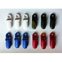 China Strong Fastening Plastic Heavy Duty Suspender Clips With Teeth / Metal Sheet on sale