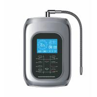 Quality 2017 water ionizer alkaline machine oem or brand with 9999liter filter tap faucet with 5 stage 0.01um water clear fi for sale