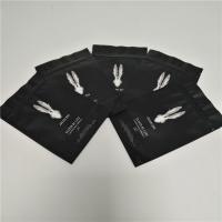 Quality 250 Grams Matte Black Food Packaging Films Stand Up Coffee Bags FDA SGS Approval for sale