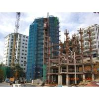 Quality ISO Quality Building Steel Frame For Residential Buildings With Paint Treatment for sale