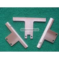 Quality food industry plastic bag film cutting packaging machine serrated blade for sale