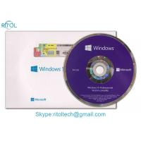Quality 32 Bit / 64 Bit Windows 10 Pro COA Sticker OEM Retail Box For Operating System for sale