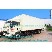 China Howo Box - Type  Small Cargo Truck ZZ1127E4715B180 , White / Blue wholesale