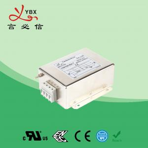 Quality Custom Magnetic 3 Phase EMI Filter 30A Motor Wave Interference Power for sale