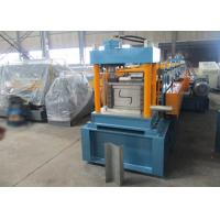 Quality Auto PLC Control Z Purlin Roll Forming Machine with Engineer Oversea Service for sale
