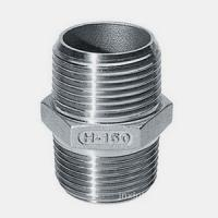 Quality Hex Nipple , Stainless Steel Threaded Pipe Fittings 316 for sale