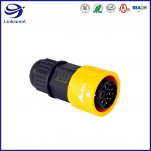 Quality Middle IP68 copper alloy Waterproof Circular Connectors For Streetlight for sale