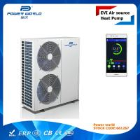 Quality ErP A+ Air To Water EVI High COP Heat Pump With PW Cloud Remote Control Function 19.3kw for sale