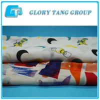 China New design100% polyester custom printed chiffon fabric for clothing on sale