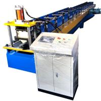 Quality Water Gutter Rolling Forming Machine Dx51 Half Round 8 - 10m / Min Speed for sale