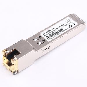 Quality Gigabit Electrical Sfp Rj45 Transceiver 10G Transceiver Modules SFP-GE-T for sale